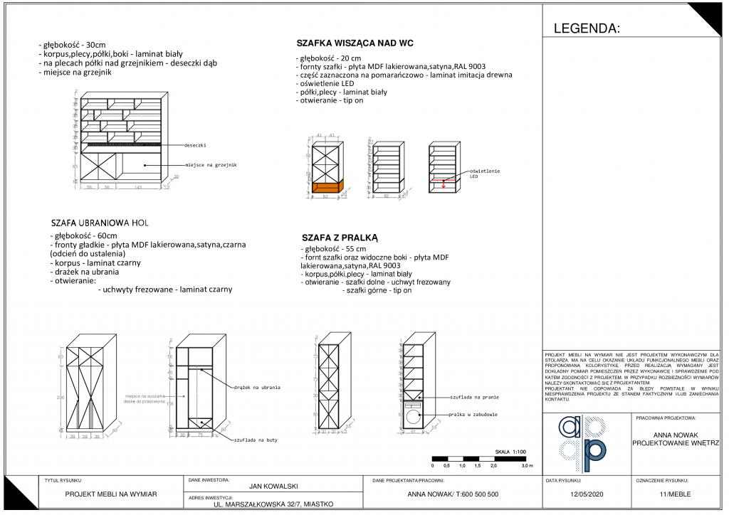 Projekt wykonawczy mieszkania- jak go wykonać i co zawiera? 12