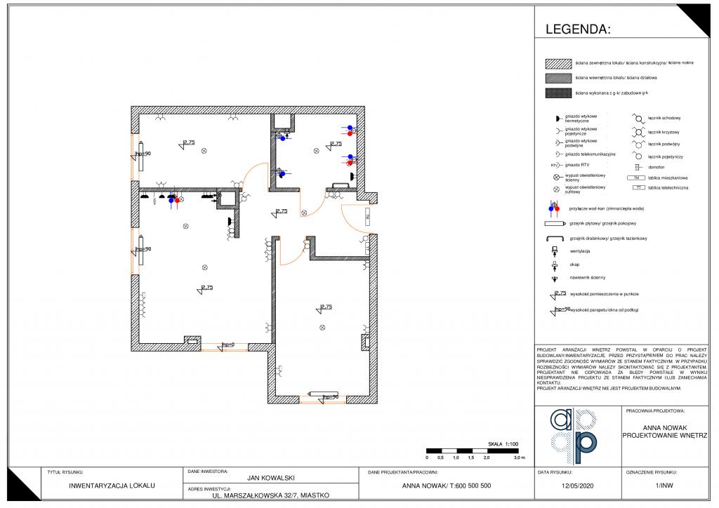 Projekt wykonawczy mieszkania- jak go wykonać i co zawiera? 4