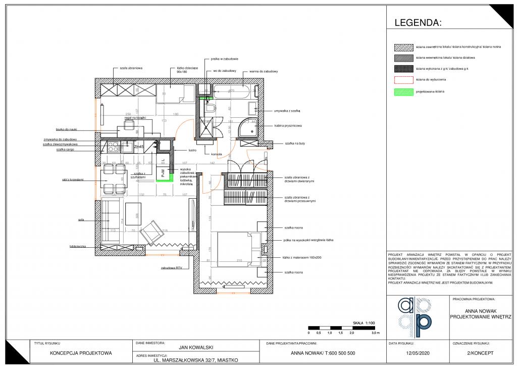 Projekt wykonawczy mieszkania- jak go wykonać i co zawiera? 3