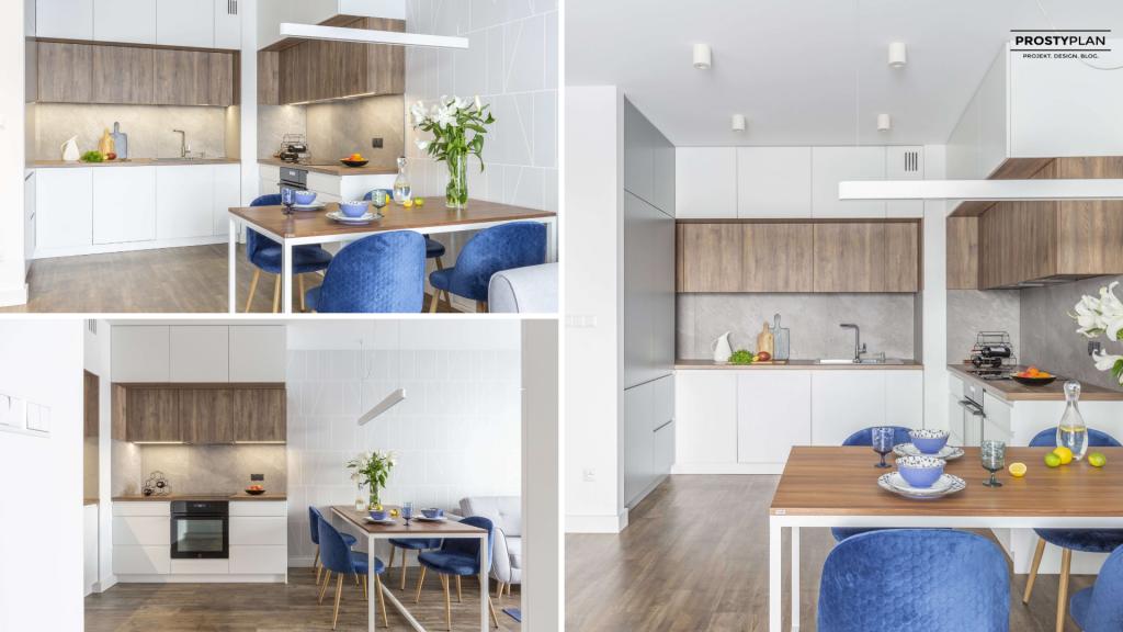 Projekt Harmonia- idealne połączenie salonu z aneksem kuchennym 2